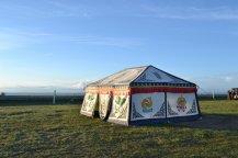 方形蒙古包帐篷
